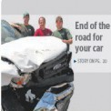 Hank's Auto Wreckers in the Woolwich Observer September 2010,